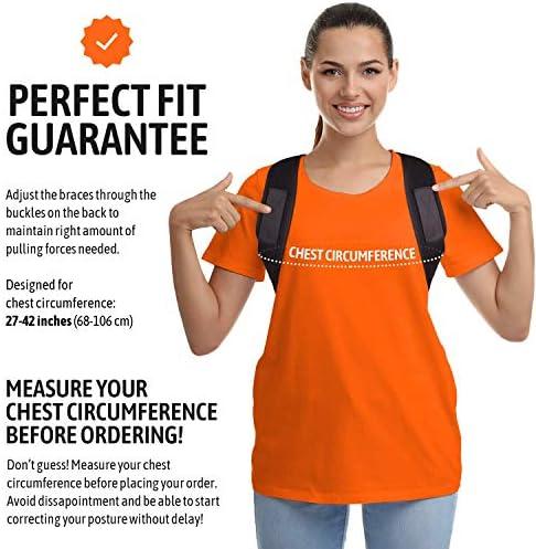 Posture Corrector For Men And Women Upper Back Brace For Clavicle Support Adjustable Back