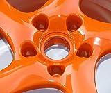 High Gloss Orange Powder Coating Paint (1 LB)