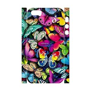 Beautiful butterfly Customized 3D Case for Iphone 5,5S, 3D New Printed Beautiful butterfly Case