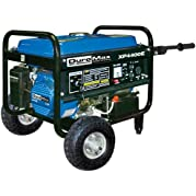 DuroMax XP4400E-CA 4,400 Watt 6.5 HP OHV 4-Cycle Gas Powered Portable Generator With Wheel Kit And Electric Start...