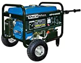DuroMax XP4400E-CA 4,400 Watt 6.5 HP OHV 4-Cycle Gas Powered Portable Generator With Wheel Kit And Electric Start (CARB Compliant)