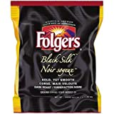 Folgers Black Silk Dark Roast Ground Coffee, 1.4 Ounce -- 150 per case.