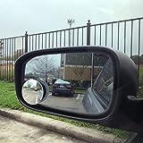 "Ampper Blind Spot Mirror, 2"" Round HD Glass"