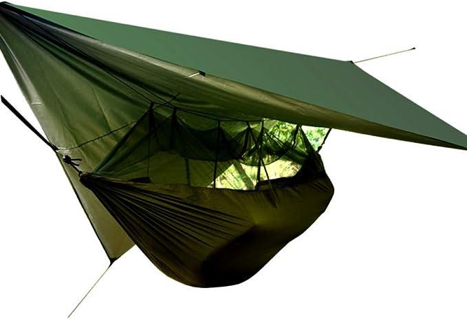 ZXCVBW Tienda de campaña Militar para hamacas Tienda de campaña con Malla Anti mosquitera Tienda portátil para Acampar al Aire Libre Senderismo 2019: Amazon.es: Deportes y aire libre