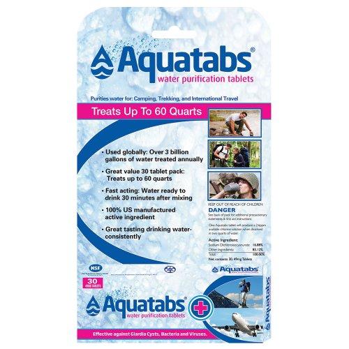 Aquatabs NaDCC Tablets (30-Pack)