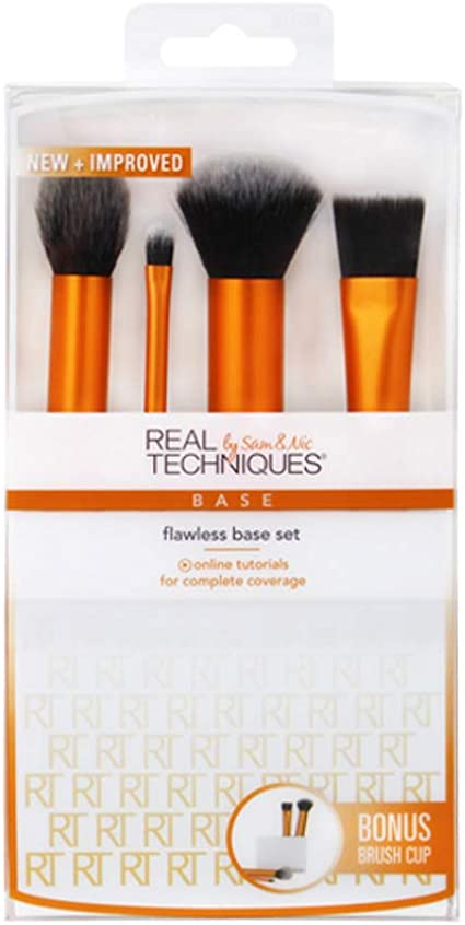 Real Techniques Flawless Base Set (6 Pack): Amazon.es: Belleza