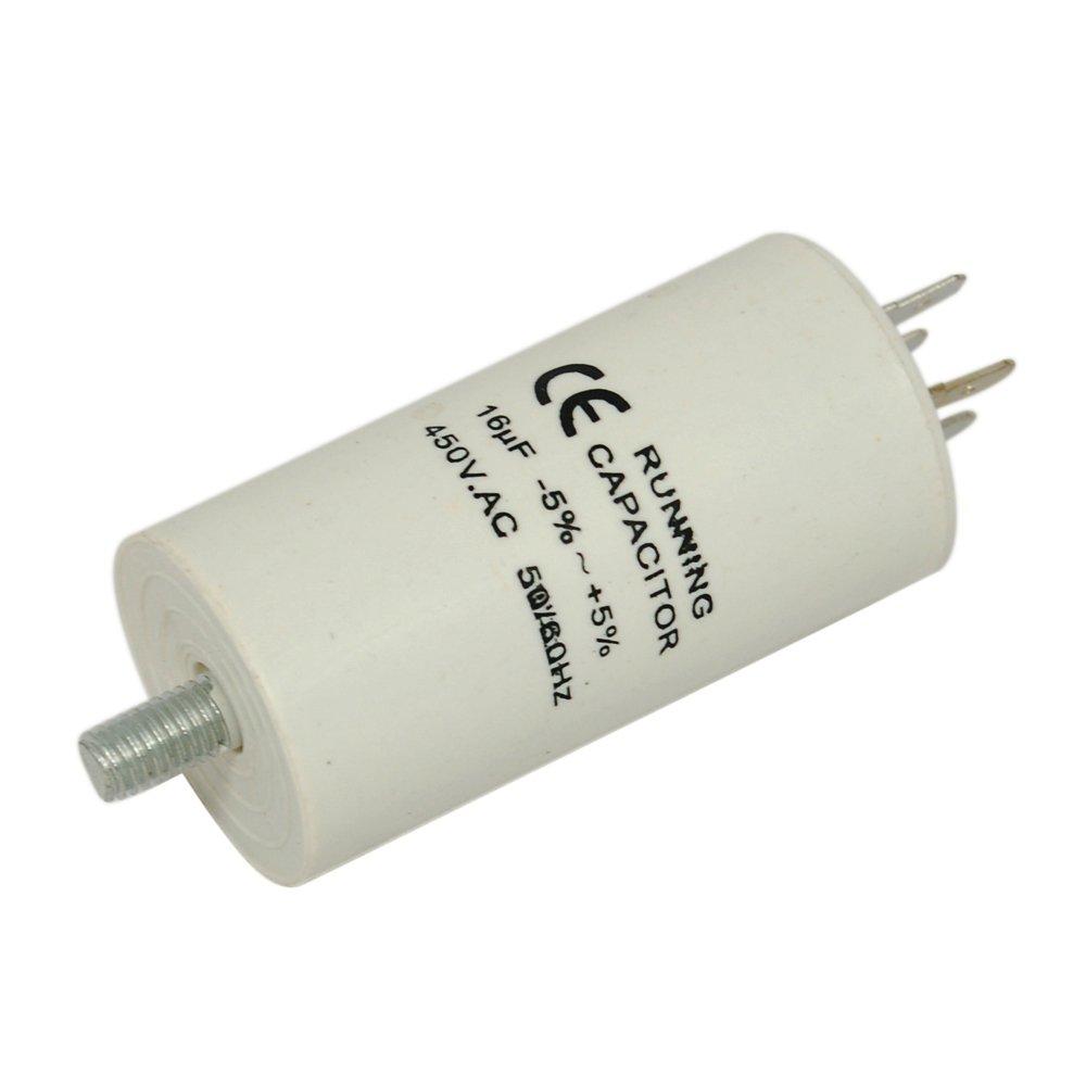 Condensador - 16uF para Eurotech Frigorífico con congelador ...