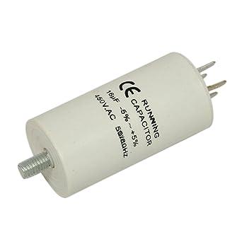 Condensador – 16uF para White Westinghouse Frigorífico con ...