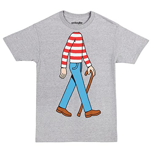 Where's Waldo I Am Waldo Adult T-Shirt (Large)