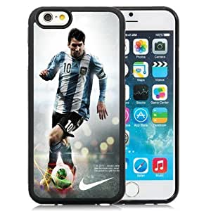 Unique DIY Designed Case For iPhone 6 4.7 Inch TPU With Soccer Player Lionel Messi 23 Cell Phone Case WANGJING JINDA