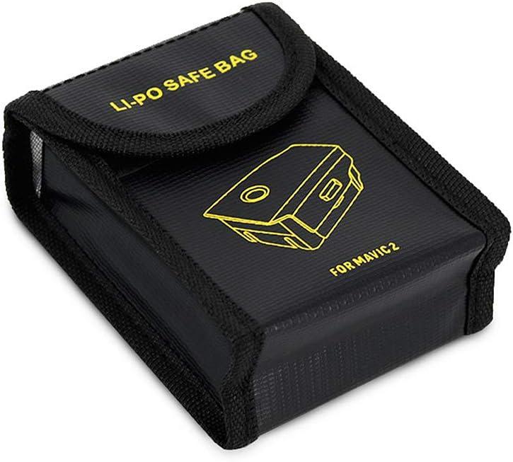 Color : Black Black MEETBM ZIMO,Battery Explosion-Proof Bag for DJI Mavic Pro