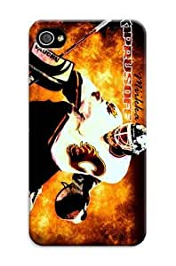 Cool Plain Tpu Rubber Skin Case Cover For Iphone 4/4S Nhl Calgary Flames