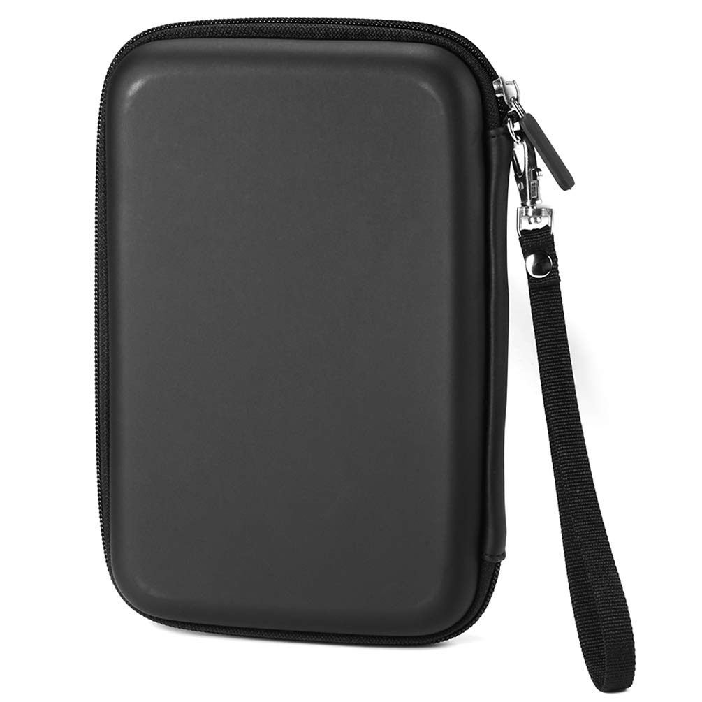 Portable 7' Inch GPS Case Hard Shell Travel Carrying Case Bag for 6' 7' GPS Navigation Garmin Nuvi 65LMT 2797lmt 2798LMT 2757LM 2789 Dezl 760lmt Tomtom Magellan Roadmate GPS Devices Black Agkey
