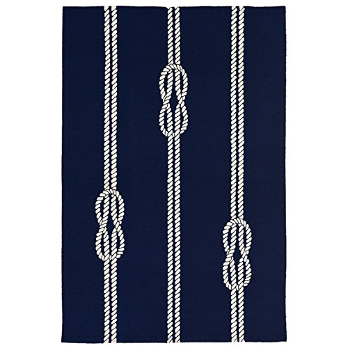 Liora Manne Monaco Sea Twine Rug, Navy, Indoor/Outdoor, 24