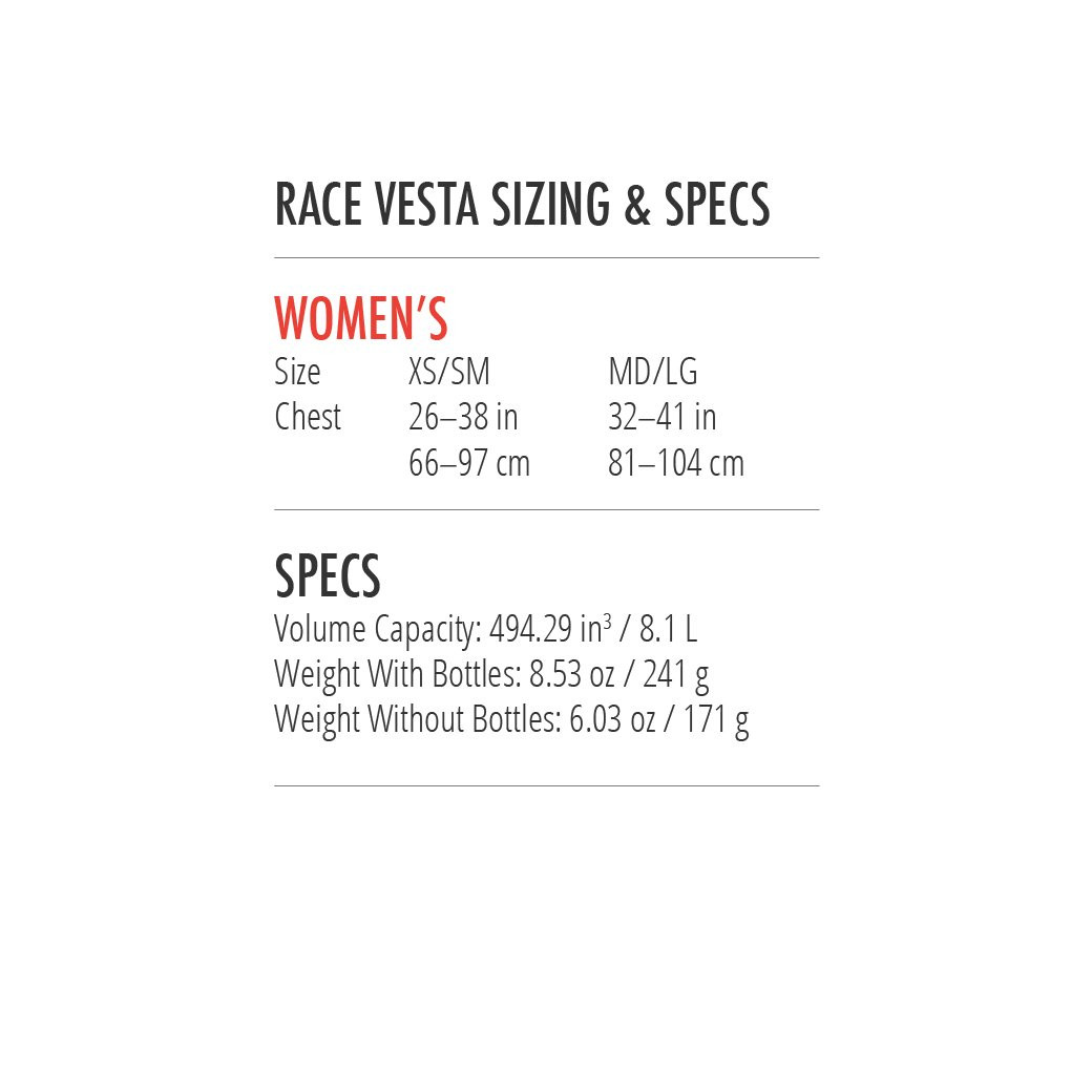 Ultimate Direction Womens Race Vesta 4.0, Coral, Medium/Large by Ultimate Direction (Image #7)