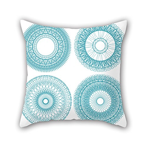 NICEPLW The Circle Cushion Cases Of ,20 X 20 Inches / 50 By 50 Cm Decoration,gift For Kitchen,couch,husband,birthday,son,kids Girls (twin Sides)