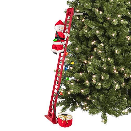 Mr. Christmas 36885 Super Climbing Plush Snowman Holiday Decoration, One Size, Multi (Christmas Cracker Music Barrel)