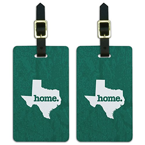 Texas Home State Luggage Suitcase
