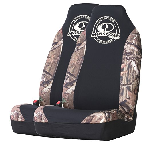 Mossy Oak Camo Spandex Seat Cover (Mossy Oak Infinity Camo, Set of 2) (Blue And Camo Seat Covers compare prices)