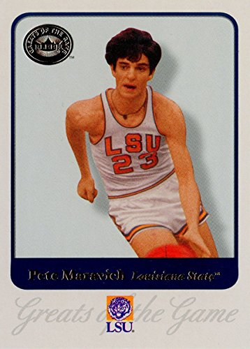 - 2001 Fleer Greats of the Game 62 Pete Maravich M (Mint)