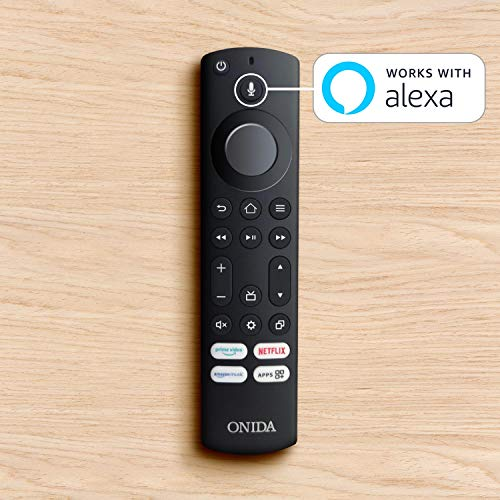 Onida 80 cm (32 inches) HD Ready Smart LED Fire TV 32HIF1 (Black) (2021 Model)   Voice Remote with Alexa