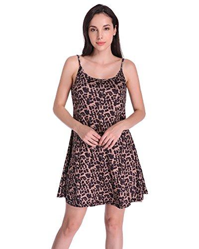 Auxo Womens Sleeveless Casual Summer