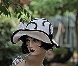Wide Brim Vintage Style 20s Flapper Hat