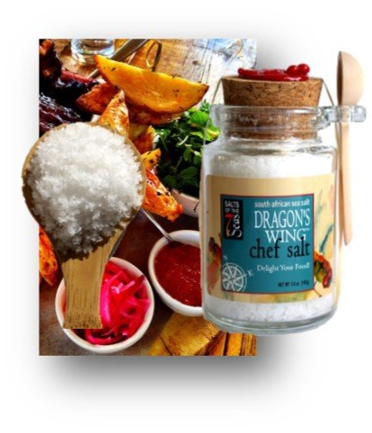 Crunchy Collection (Dragon's Wing South African Sea Salt, The EXOTICS Collection)