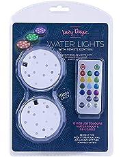 Lazy Dayz LD0050 LD0050 Lazy Dayz LED Pool Lights with Remote Control