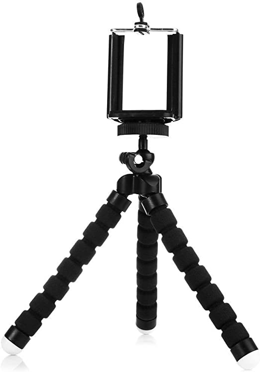 Mobile Sky Flexible Octopus Trípode Mini Para Cámara de Vídeo y ...