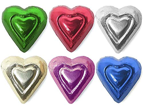 Madelaine Solid Premium Milk Chocolate Mini Hearts...
