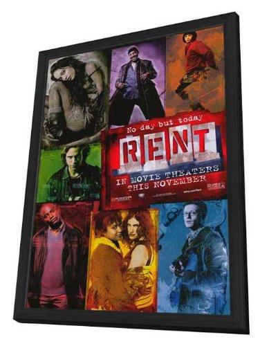 Rent - 11 x 17 Framed Movie ()