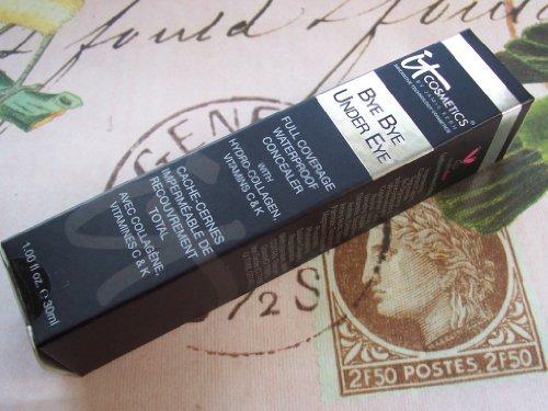 it Cosmetics Supersize Bye Bye Under Eye Waterproof Concealer 1 fl oz. Medium (Light Medium)