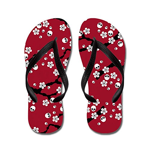 CafePress Gothic Blossoms Pattern Sandals