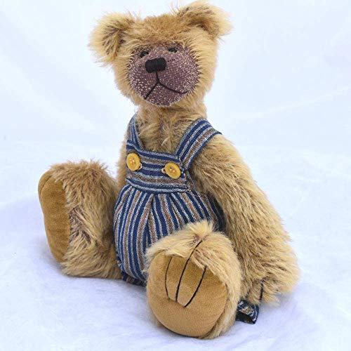 Lytning- Teddy Bear Golden Yellow Mohair Artist Collectable OOAK 10 inches