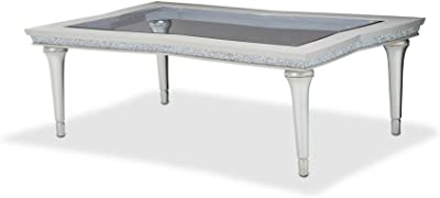 Aico Amini Melrose Plaza Cocktail Table in Dove Grey