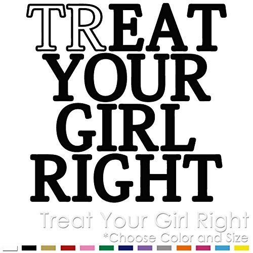Treat Your Girl Right Oral Sex Vinyl Decal Sticker (TG-01)