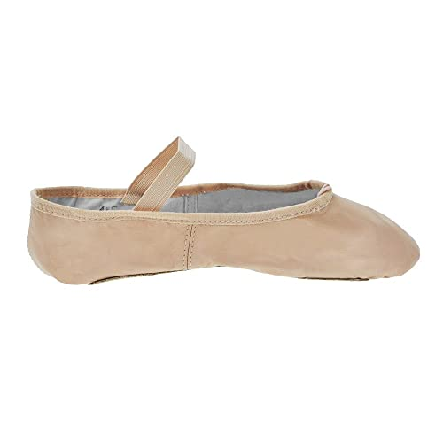 Zapatillas de ballet de tela de suela completa Bloch - Rosa - Tamaño 28.5 - B Fitting: Amazon.es: Zapatos y complementos