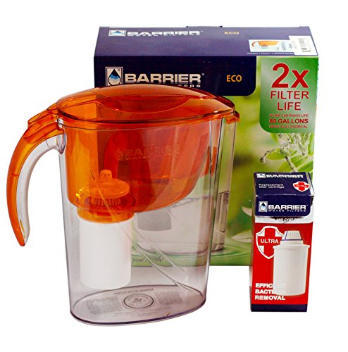 New Wave Enviro Barrier Eco Pitcher with Bacteria and Cyst R