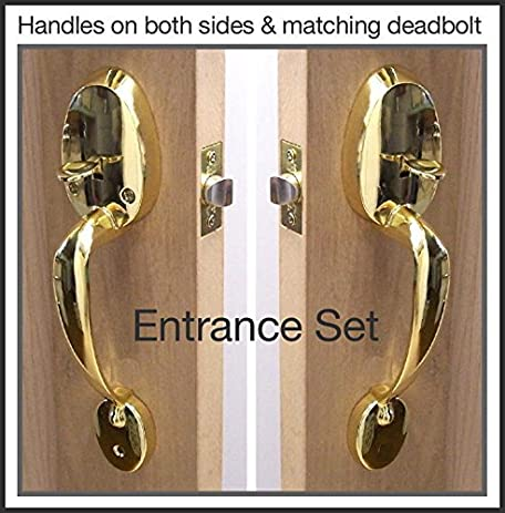 Door Handle Set, Easy To Install. Contains All Hardware To Install On Both  Side