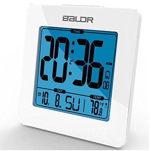Baldr lcd bath shower clock waterproof bathroom clock for Bedroom 80 humidity