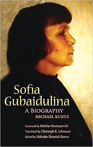 Kirja lataa ilmaiseksi pdf Sofia Gubaidulina: A Biography (Russian Music Studies) Suomeksi PDF CHM ePub by Michael Kurtz