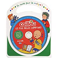 Caillou  /Les plus belles comptines  CD/LIVRET COULEUR DE 11 PAGES