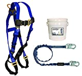 FallTech 9500Z, Starter Kit - 7015 Harness, 8259 SAL, White