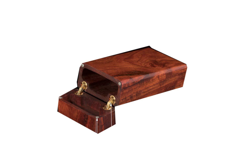 WYL Zigarettenetui, tragbare ultradünne Zigarettenetui, Zigarettenetui aus Holz, Geschenk für Freund,A,Caja de cigarri: Amazon.es: Deportes y aire libre
