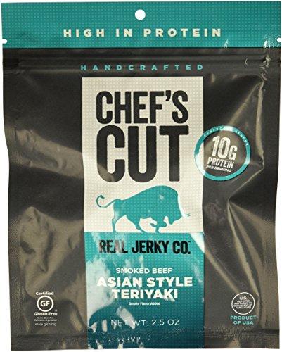 Chef's Cut Tender Real Jerky | Beef Asian Teriyaki | 2.5 oz | 8 Count