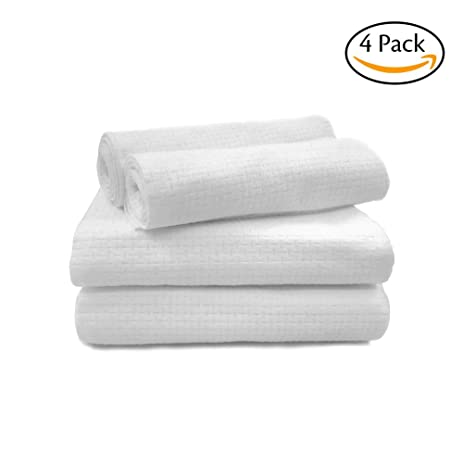TINCINT Disposable Guest TowelsLarge Hand Bath Towels With Soft Absorbent Fiber Cotton For Outdoor