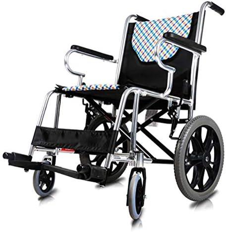ZGQA-GQA 医療リハビリテーション椅子、車椅子、軽量折りたたみ車椅子運転医療、車椅子高齢者老人小型ホイールウルトラライト旅行アルミ合金マニュアル車いす