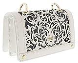 Roberto Cavalli HXLPD2 010 White Shoulder Bag for Womens