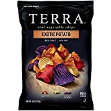 TERRA Exotic Potato Chips with Sea Salt, 5.5 oz. (Pack of 12)
